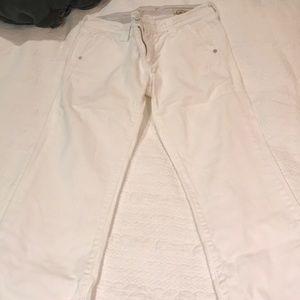 White bell bottom jeans